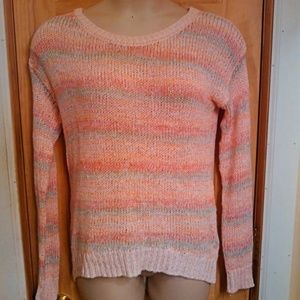 Pastel Multi Colored Knit Sweater